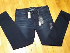 American Eagle Super Low Jegging Jeans Size 12 Long Super Stretch Demin X NWT