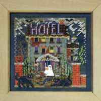 MILL HILL Buttons Beads Kit Counted Cross Stitch HAUNTED HOTEL MH14-8201