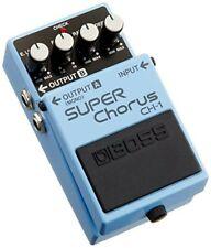 Boss Super Chorus CH-1 Blau Effekt Gitarre Audio Equipment Zeitgenössisch