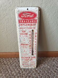Ford New Holland tractor Thermometer