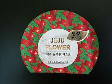 Dearpacker Jeju Flower Camellia Elasticity Nourish 1sheet Face Mask Pack