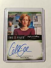 2019 X-FILES UFOs & Aliens Gillian Anderson Auto Autograph Dana Scully Signed 1