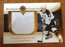 2005 Ultimate Collection Premium SWATCHES #PS-VL Vincent Lecavalier /75 Card 0a7