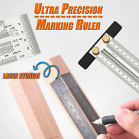 Ultra Precision Marking Ruler Scale Ruler T-type Hole Stainless Scribing Tools