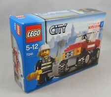 LEGO City 7241 Fire Car Set Brand NEW In Box Factory Sealed Japan Import
