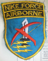 MIKE FORCE - Rare Error Patch - Vietnam War - SPECIAL FORCES - NIKE AIRBORNE - B