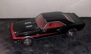 Matchbox YMC06-M Chevrolet Camaro SS396 1968 Black - 1:43 Scale