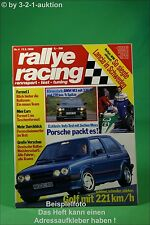 Rallye Racing 4/88 BMW M3 VW Golf GTI 16V Ferrari