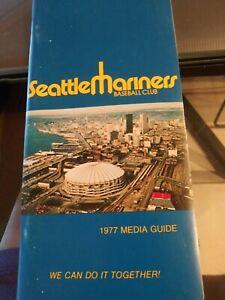 media guide seatle mariners 1977