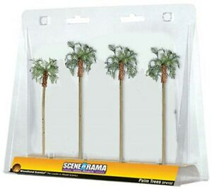 NEW Woodland Scene-A-Rama Palm Trees Train Scenery N/HO SP4152