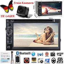 Für Opel Astra H Corsa D Zafira B Klavierl 2DIN USB AUX MP3 CD Autoradio &Kamera