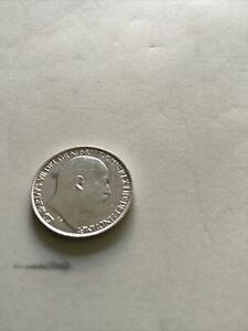 1902 Edward Vll Sixpence Nearly U.N.C. Grade Excellent Superb High Grade