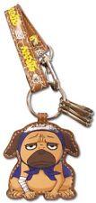 Naruto Pakkun Leather Keychain