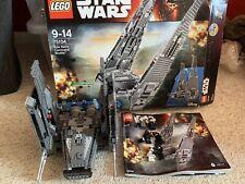 Lego Star Wars Kylo Ren's Command Shuttle (75104) Complete Set + Minifigures