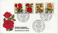 Bund 1150/3 Wohlfahrt - Blumen - FDC
