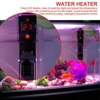 100W LED Aquarium Mini Submersible Fish Tank Adjustable Water Heater Thermostat