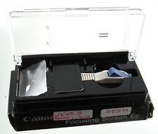 Ersatzteile & Werkzeuge 5 Original Canon Ef Kamera Einstellscheibe Mattscheibe Focusing Screen M106