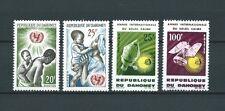 DAHOMEY - 1964 YT 214 à 217 - TIMBRES NEUFS* trace de charnière