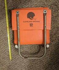 Vintage Cleveland Browns NFL Football Folding Stadium Seat Bleacher Chair  RARE 38ae78a90