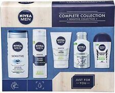 Nivea Men Complete Sensitive Collection Gift Set 5 Full Size Items
