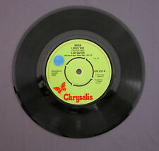 """SG 7"""" 45 rpm 1976 LEO SAYER - WHEN I NEED YOU / I THINK WE FELL IN LOVE TOO FAST"""