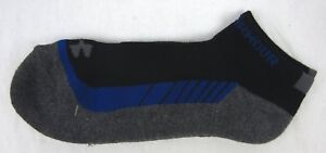 Under Armour - NEW Pair of Men's Black/Gray Low Cut Sport Socks - Size: 9-12