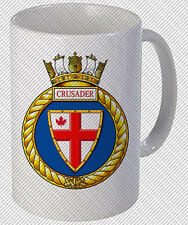 HMCS CRUSADER ROYAL CANADIAN NAVY COFFEE MUG