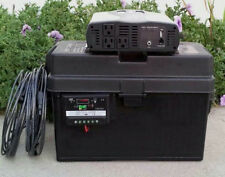 2500/5000 Watt Solar Generator 2 100W Solar Panels 100AH Battery Portable