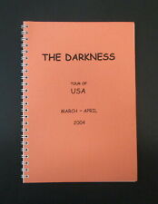 The Darkness USA Tour March-April 2004 Band & Crew Itinerary Book