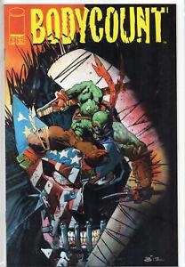 BODYCOUNT # 1 RARE TMNT Teenage Mutant Ninja Turtles Simon Bisley 1996