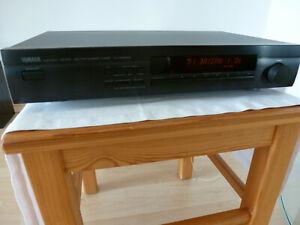 Yamaha TX 580 RDS schwarz Tuner Radio Top Zustand