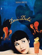 PUBLICITE ADVERTISING 055  1994  NINA RICCI  parfum DECI-DELA