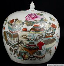China 19./20 Jh. A Chinese Famille Rose Porcelain Jar - Chinois Cinese Fencai