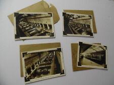 1936 Colfax Power Plant Industrial Photograph Lot Duquesne Light Modern Vintage