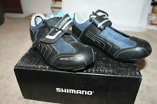 CHAUSSURE - BASKET POUR VELO * SHIMANO * TAILLE 41 AVEC NOTICE / A SCRATCH  neuf