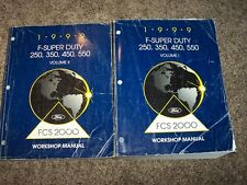 1999 Ford F-250 Super Duty Shop Service Repair Manual XL XLT Lariat Gas & Diesel