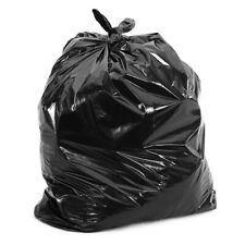 50 Pack 64 Gallon Large Heavy Duty Garbage Waste Trash Can Toter Bags  50x60Inch