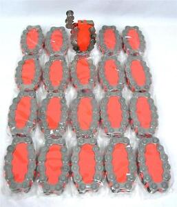 Lot Of 20 Biker Chain Link Motorcycle Refillable Torch Cigarette Lighter A-6