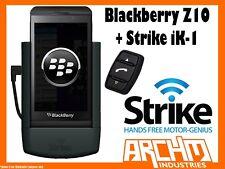 STRIKE ALPHA BLACKBERRY Z10 + STRIKE iK-1 CAR CRADLE - BUILT-IN FAST CHARGER