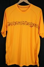 Outdoor Research Mens XL Bright Orange Graphic Performance T Shirt