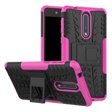 Etui Hybride 2 PIÈCES EXTÉRIEUR ROSE housse étui pour Nokia 8 étui de protection
