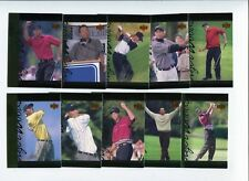 "2001 Upper Deck Golf ""Tiger Tales"" Complete 30 Card Set Lot tiger Woods TT1-TT30"
