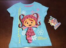 Team Umizoomi Toddler Girl Blue Shirt Top Milli New 4T
