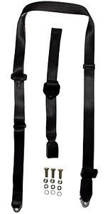 Non Retractable Lap Sash Seat Belt 2.6M With 150Mm - 610Mm Adjustable Web Buckle