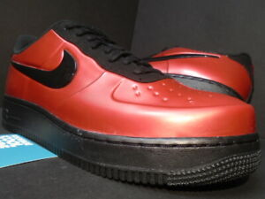 2018 NIKE AIR FORCE 1 FOAMPOSITE PRO CUP AF1 GYM RED BLACK AJ3664-601 NEW 10