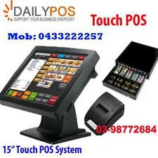 Touch POS System Cash Register  Restaurant Cafe Takeaway Fish Chips Keba Pizza