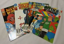 JUSTICE LEAGUE AMERICA #57, 58, 59 AND 60 (1991-1992)