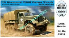 Mirror Models 35803 1/35 scale Us Diamond T968 Cargo Truck, Hard Top Cab