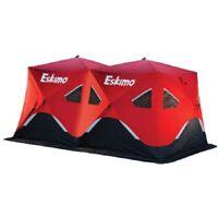 NEW Eskimo Fatfish 9416 FF9416 7-9 Person Portable Pop Up Ice Fishing Shelter