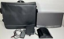 Bose SoundDock Portable Digital Music System Remote 2 Batteries Carrying Case